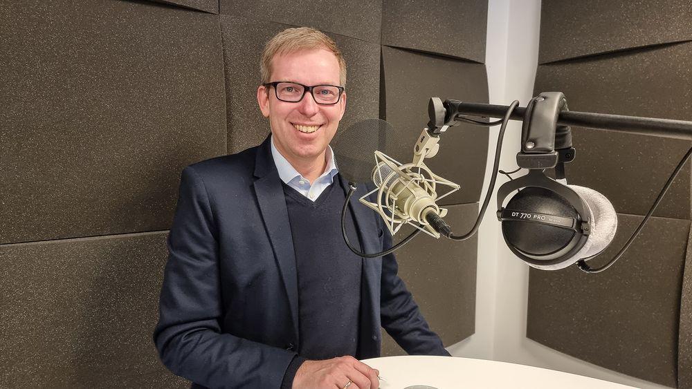 Innovasjon Norge-sjef Håkon Haugli er imponert over alle de nye ideene til produkter og selskaper som har kommet selv om landet er koronarammet.