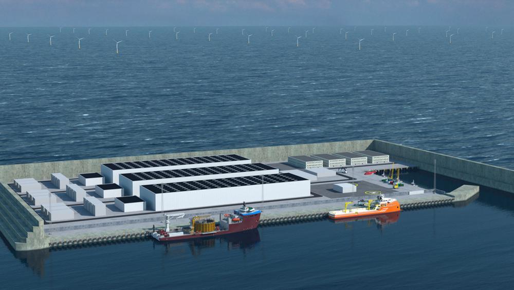 Kostnaden ved den danske energiøya er estimert til 210 milliarder kroner, inkludert 10 GW havvindparker, elektriske anlegg på øya og transportkabler til land.