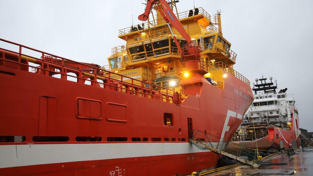 Eidesvik-skipet Viking Energy blir det første som går på ammoniakkdrevet brenselcelle . I dag er det LNG-batterihybrid framdrift.