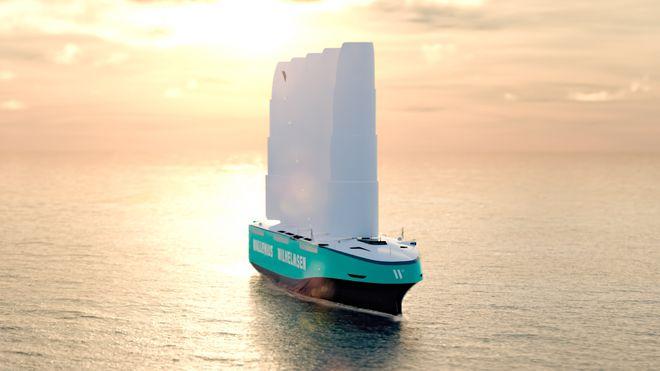 Orcelle Wind blir 220 meter lang, 40 meter bred og vil ha plass til 7.000 biler og rullende materiell.