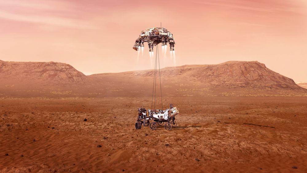 Da Mars Perseverance Rover landet på den røde planeten ca klokka 21.45 torsdag kveld, er det en stor begivenhet også sett med norske øyne.