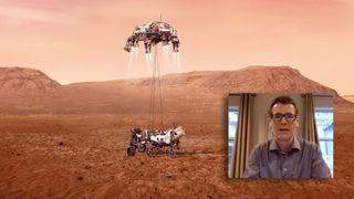 Mars Perseverance har landet!
