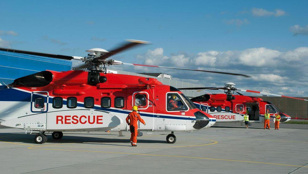 CHC Helikopter Service mottok høsten 2017 flere redningshelikoptre av typen Sikorsky S-92A.