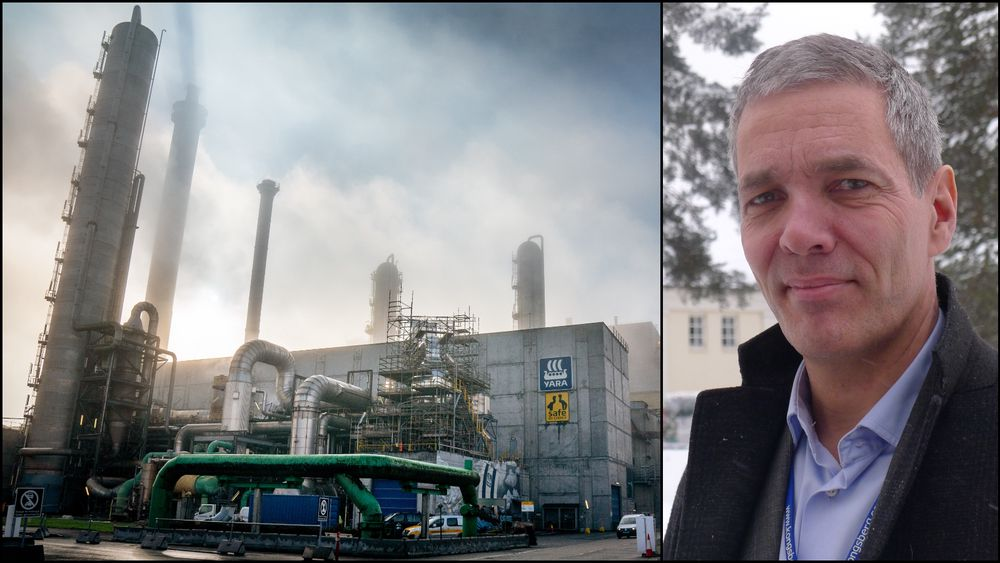 Yaras pilot-anlegg for hydrogenproduksjon vil trenge 30-40 MW. Satser de i stor skala, vil det kreve 450 MW i tillegg. Daglig leder i Herøya Industripark, Sverre Gotaas, mener det illustrerer det enorme kraftbehovet som vil komme i Norge.