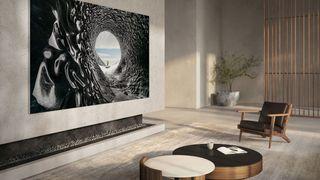 Med mindre du har veldig mye penger til overs, er Samsungs nye Micro-LED TV på 110 tommer noe det er best å drømme om foreløpig.