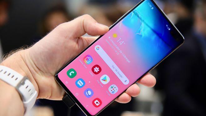 Samsung Galaxy S10 5G.
