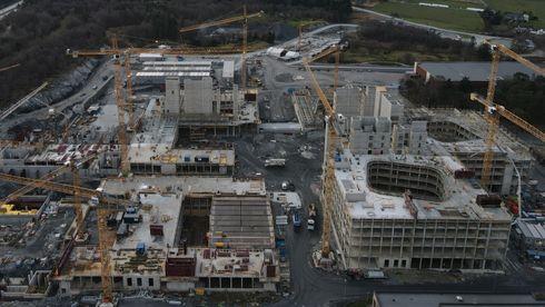 Byggingen av det nye sykehuset i Stavanger er i gang.