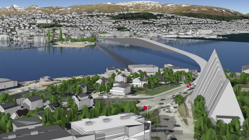 Tromsø i 3D