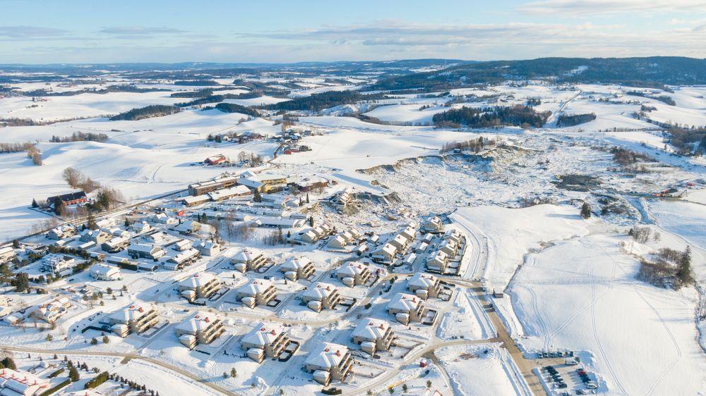 Flere kommuner rundt om i landet planlegger byggeprosjekter på områder med høyere risiko for kvikkleireskred enn i Gjerdrum.