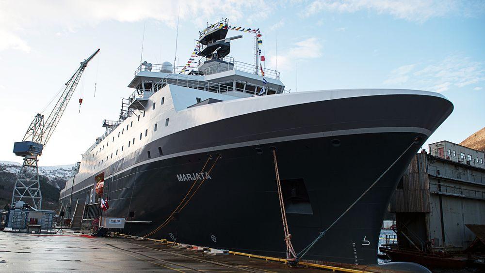 Spionskipet Marjata omtales som et av Norges mest sensitive skip. Det vil vedlikeholdes av russere etter Bergen Engines-oppkjøpet.
