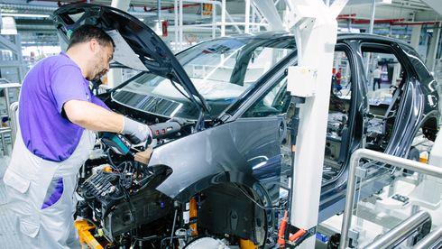 Produksjonen av ID.3 er i full gang i VWs ombygde fabrikk i Zwickau.