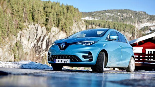 Ifølge testene brukte Renault Zoe tre kilowatt i timen for å holde oppe komforten i bilen mens den gikk «på tomgang».