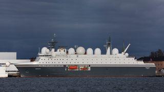 Spionskipet Marjata omtales som et av Norges mest sensitive skip.