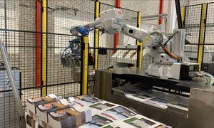 Roboten tar tungjobben på Norges største trykkeri