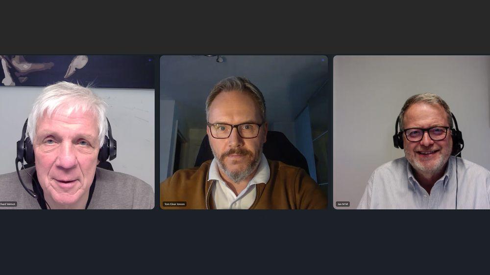 Går det som adm. direktør Tom Einar Jensen (i midten) i Freyr vil så blir Mo i Rana en av batterihovedstedene i Europa.