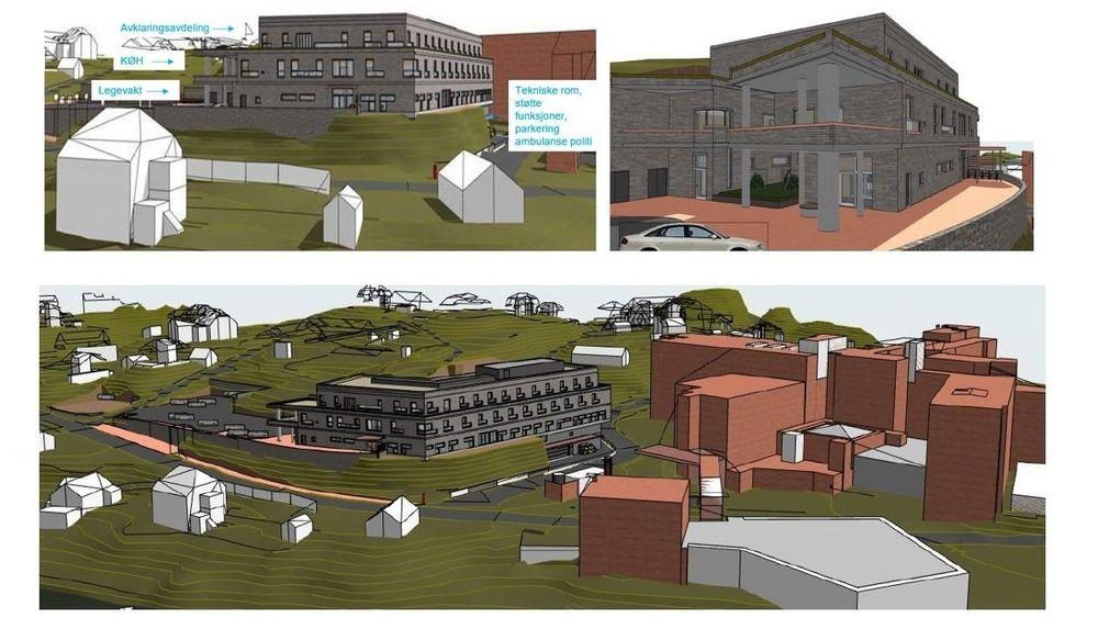 Byggearbeidene starter i mars 2021, og den nye legavkten i Arendal skal stå ferdig før jul 2022.