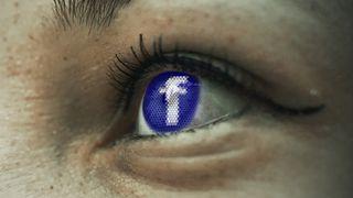 Illustrasjonsbilde av Facebook-logoen.