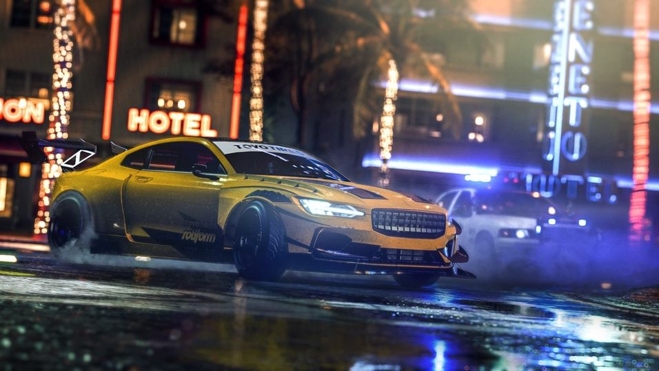 Illustrasjonsbilde fra Need for Speed Heat.