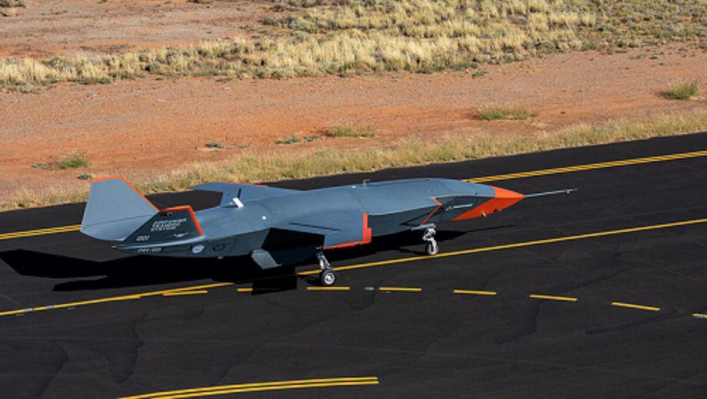 Bakketesting av Boeing Loyal Wingman i Australia høsten 2020.