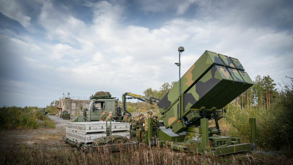 Kongsberg har solgt mye Nasams-luftvern de siste tre årene, og det gjør utslag i våpeneksportstatistikken.