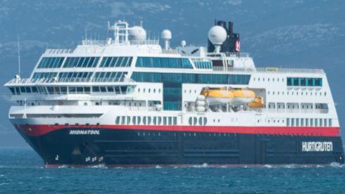 Hurtigruteskipet MS Midnatsol
