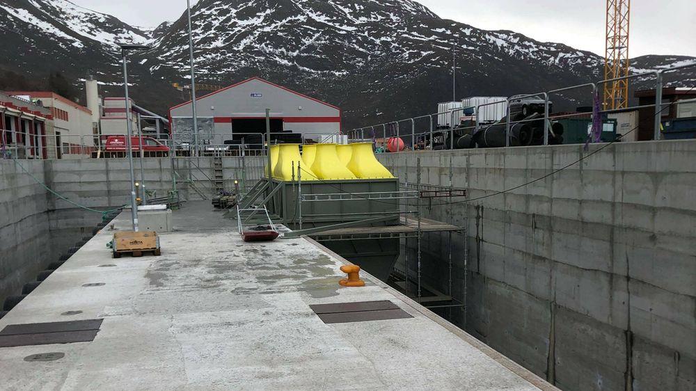 Havkraft og Marina Solutions skal teste ut hvor mye strøm bølgekraftverket produserer.