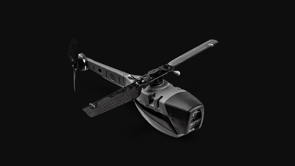 Slik ser en Black Hornet 3 ut.
