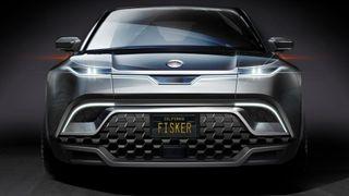 Illustrasjon av Fisker elbil. Fiskers elbiler skulle fra 2023 være utstyrt med solid-state batterier. Slik blir det ikke.