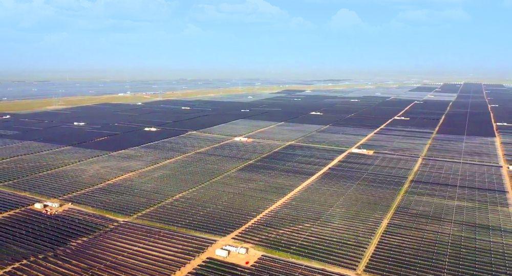 Solenergi vokser raskt i Kina.