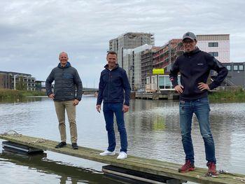Trioen bak Hydrolift Smart City Ferries:  Ketil Solvik-Olsen (CEO), Halvor Vislie (COO) og Bård Eker.