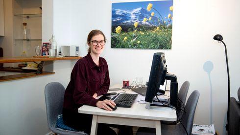 – Det var kjipt å komme hjem fra juleferie og høre nyheten om enda mer lockdown på grunn av pandemien, sier Ingrid Dagsland Halderaker som er sivilingeniør i Asplan Viak.
