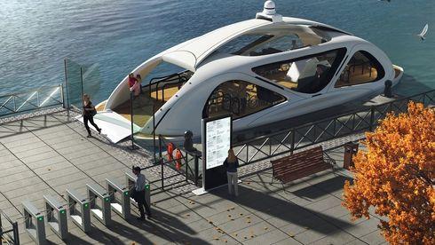 Slik skal førerløse busser på vannet bli Norges neste eksporteventyr
