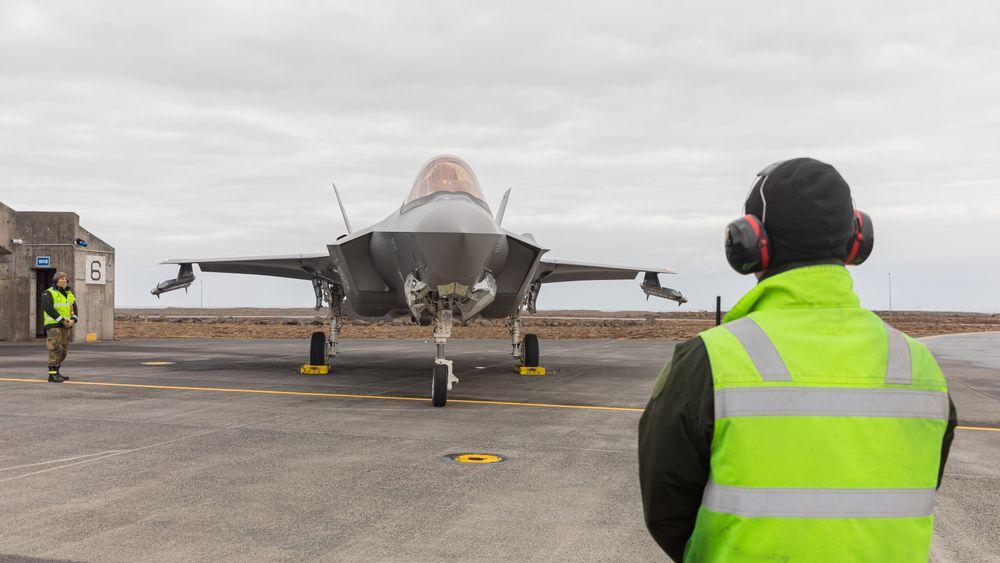 Luftforsvaret har vært på Keflavik med fire F-35A siden 22. februar, og gikk på vakt tirsdag 2. mars.