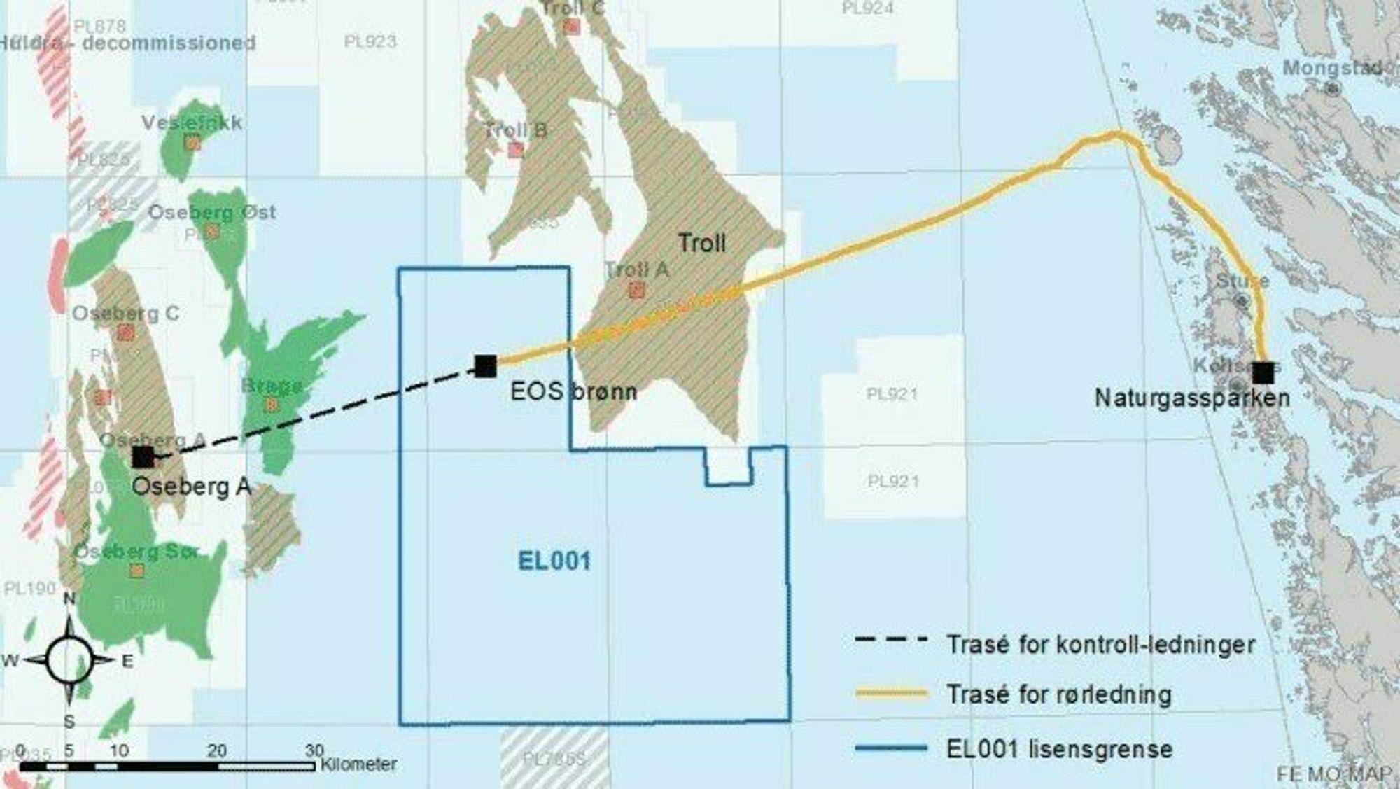 Regjeringen har nå godkjent utbyggingsplanen for CO2-lageret i Nordsjøen.