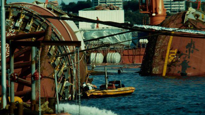 Alexander Kielland-plattformen ble snudd i 1983.
