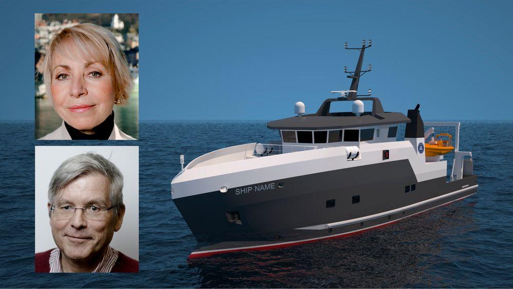 LMG Marin i Bergen designet et mindre forskningsfartøy til Havforskningsinstituttet. Prosjektet ble forsert for å skape arbeid  for maritim industri etter korona-krisen, men oppdraget går til Nederland i stedet.