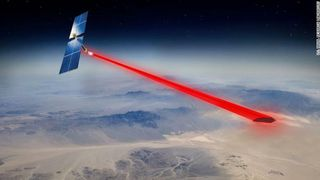 Et framtidig anlegg for å hente energi fra sola i rommet, skulle kunne ligge i bane 36.000 kilometer fra jorda.
