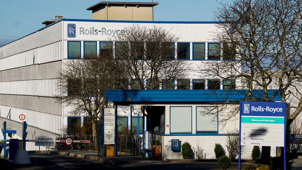 Fabrikklokalene til Bergen Engines. Rolls-Royce har inntil videre satt salget av selskapet til et russisk selskap på pause.