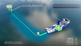 REM Energy klargjøres for lading til havs og for brenselcelle og hydrogen for økt rekkevidde.