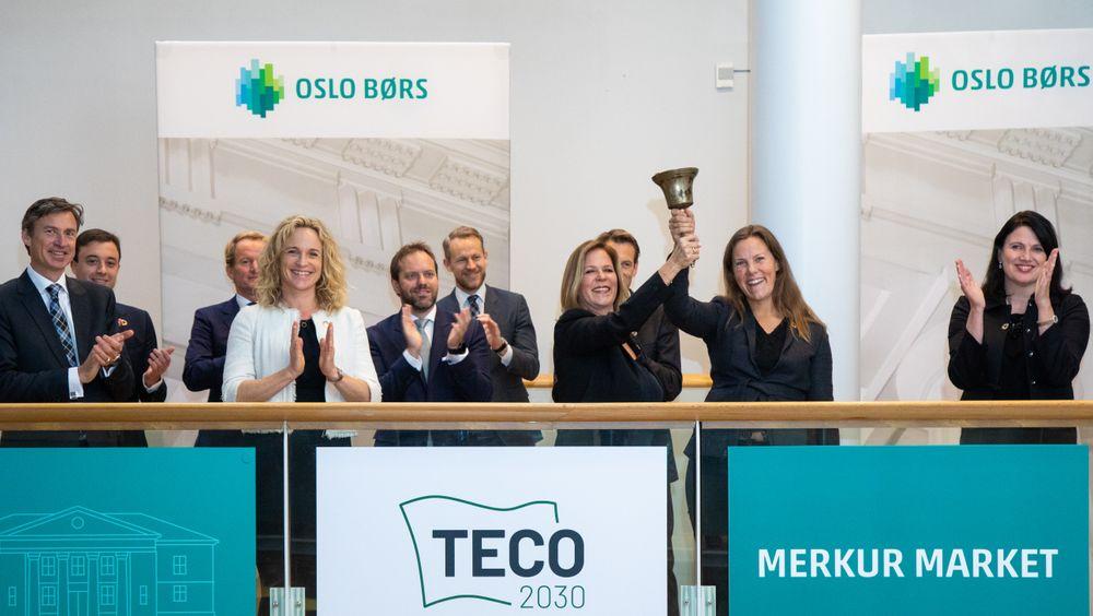 Selskapet Teco 2030 skal satse på produksjon av hydrogenbaserte brenselceller i Narvik.