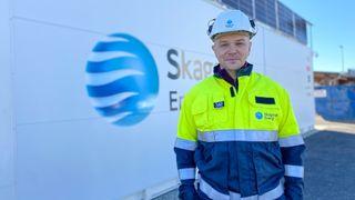 Kenneth Andersen prosjektleder Skagerak Energilab batteri byggeplasser anleggsmaskiner Kjetil Dahl energi fossilforbud fossilfri drift enova