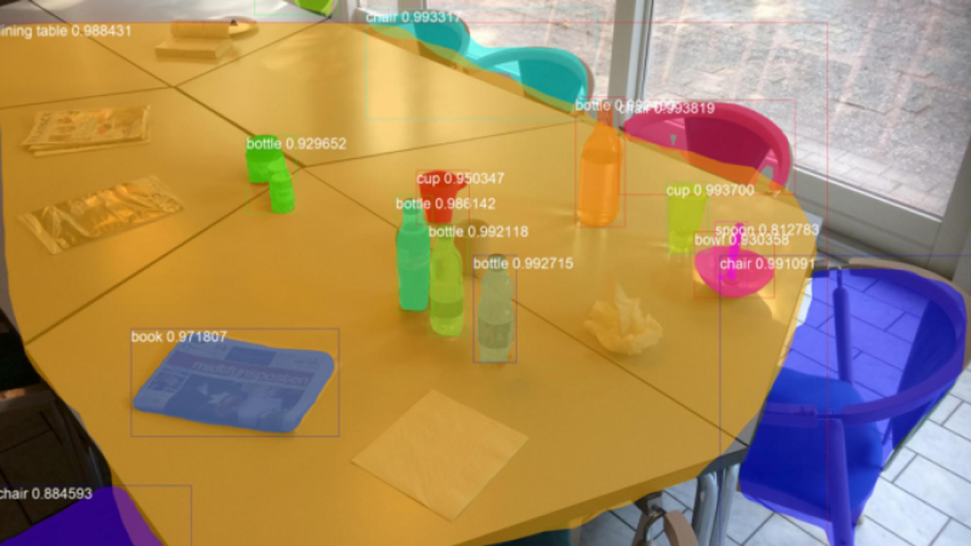 En av de største utfordringene i prosjektet vil være å utvikle programvare for bildegjenkjenning for både roboten og Ubiqisenses sensorer, slik at systemet kan identifisere de forskjellige objektene som kan ligge igjen på bordene i en kantine.