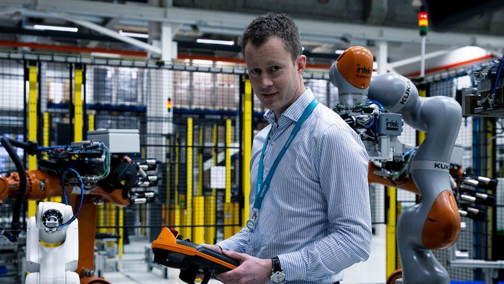Torstein Sole-Gärtner, leder for Siemens Energys Offshore Marine Centre i Trondheim der batterimolduler, tavler og frekvensomformere for skip produseres.