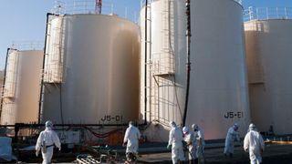 Totalt 1061 tanker rundt Fukushima-anlegget er fylt med behandlet vann.