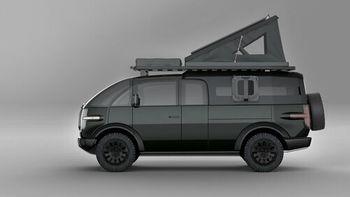 Bilen kan gjøres om til campingbil.