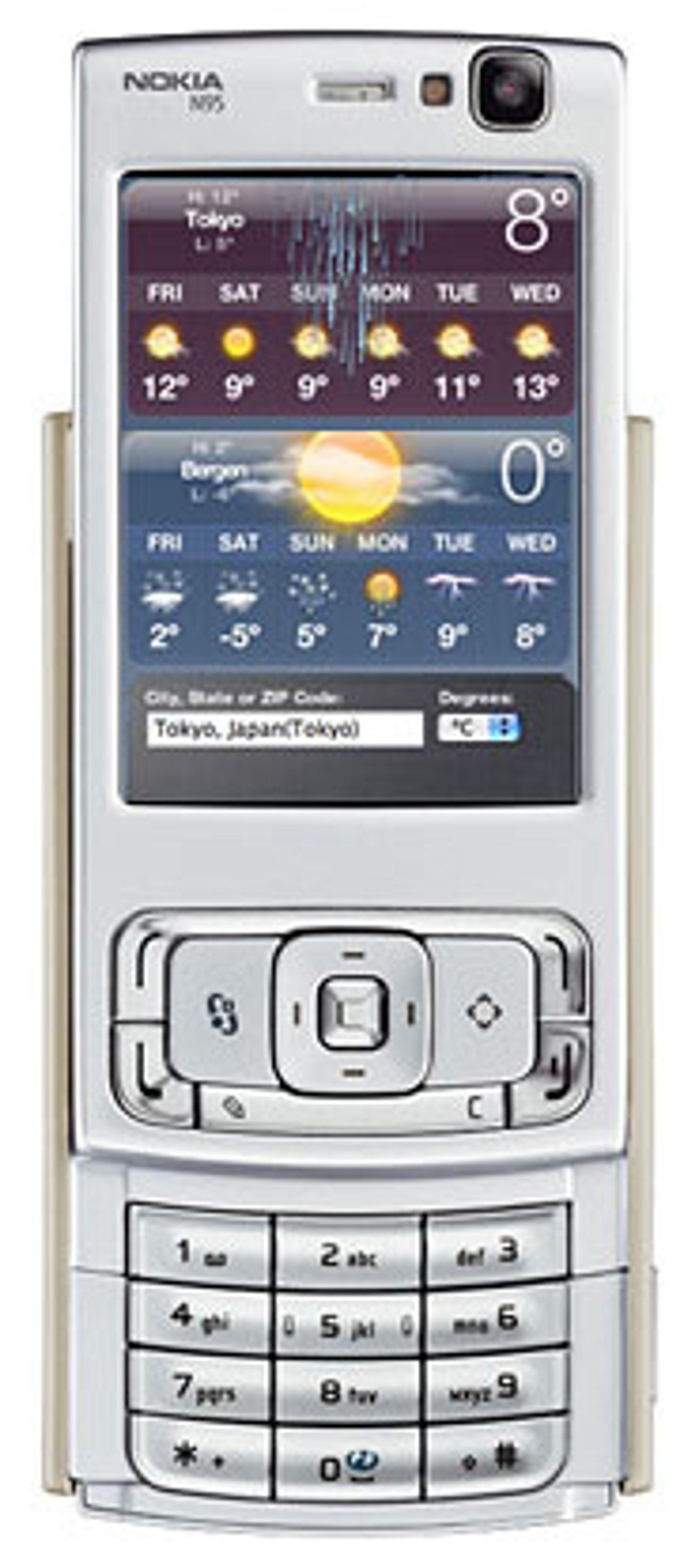 Opera Mobile 9 kommer med Widgets (Bilde: Opera)