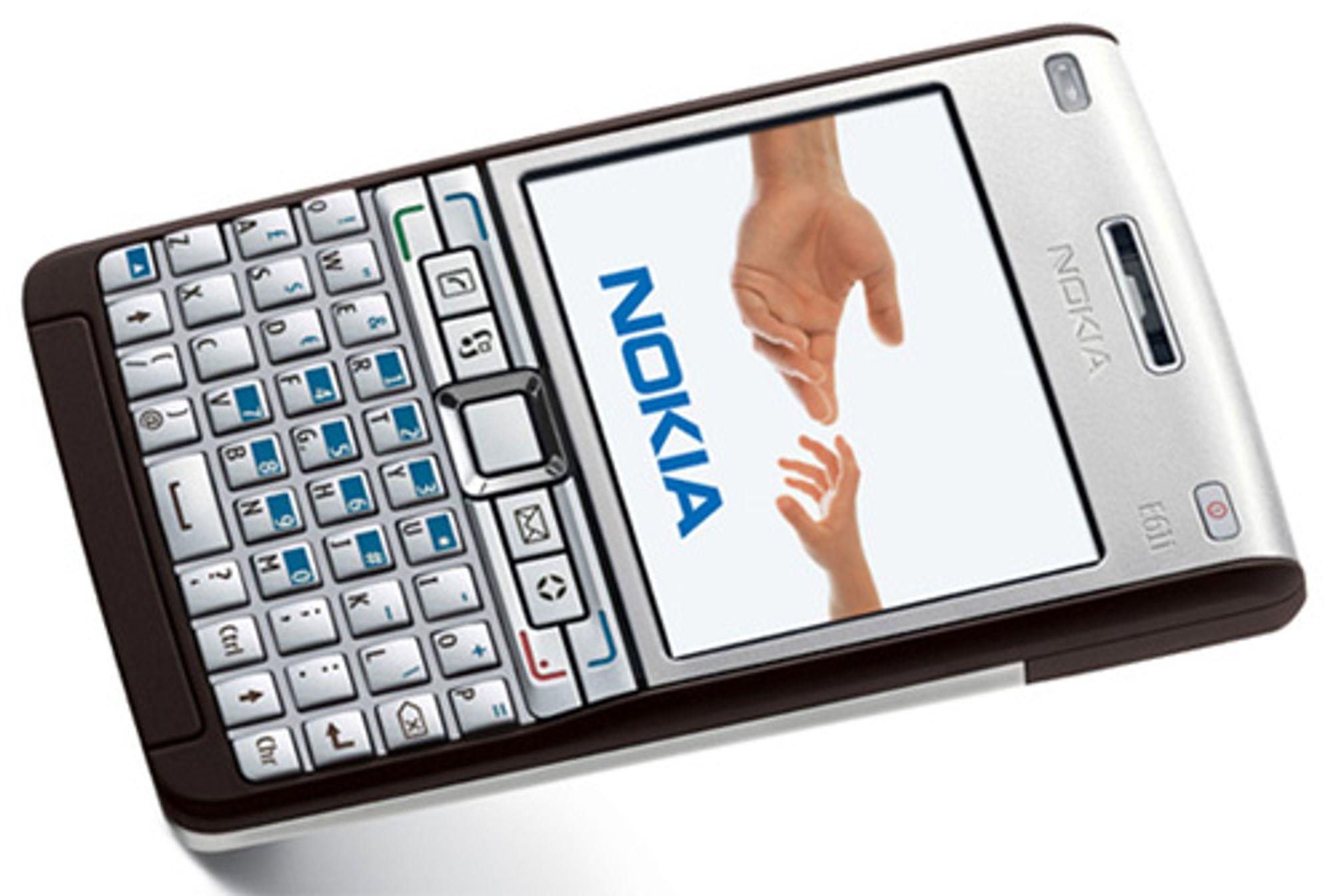 Nokias nye e-posttelefon (Bilde: Nokia)