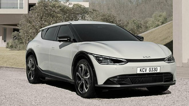 Kia EV6 lanseres i mars.