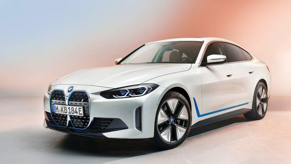BMW viser den kommende i4.
