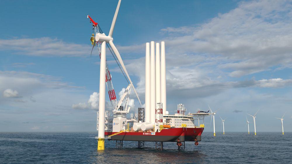Dominion Energy har bestilt ett havvind installasjonsskip av typen  Gusto MSC NG-16000X-SJ. Det bygges ved Keppel AmFELS i USA på grunn av lovgivningen, Jones Act. Skipet blir 144 meter langt, 56 meter bredt og stikker 11,5 meter dypt. Det kan stå på inntil 70 meters dyp. Kranen fra Huisman får en armlengde på 130 meter og kan løfte 2.200 tonn.